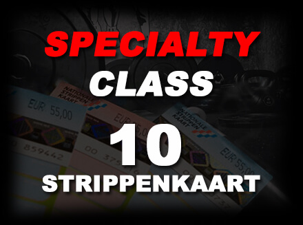 Specialty class STRIPPENKAART